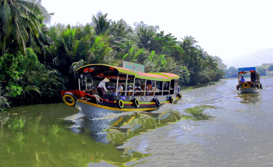 Tour du lịch trên sông Ba Trường - Trà Vinh