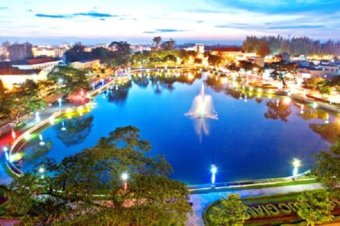 Hồ Trúc Giang - Nét duyên của thành phố xứ Dừa