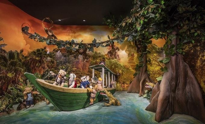 Nhà Gấu sở hữu câu chuyện chủ đề về hành trình khám phá thế giới của nhà thám hiểm Indiana Jones