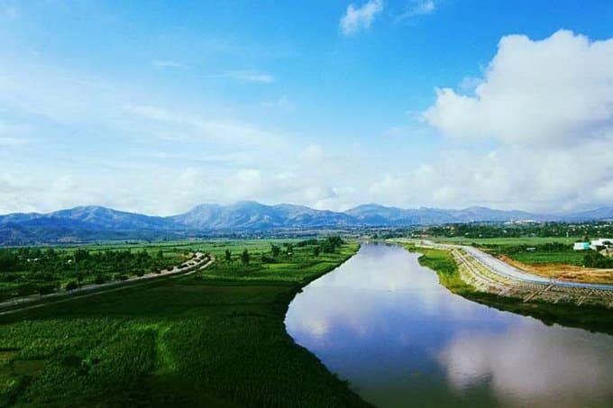 Sông Đắk Bla, dòng sông chảy ngược ở Tây Nguyên