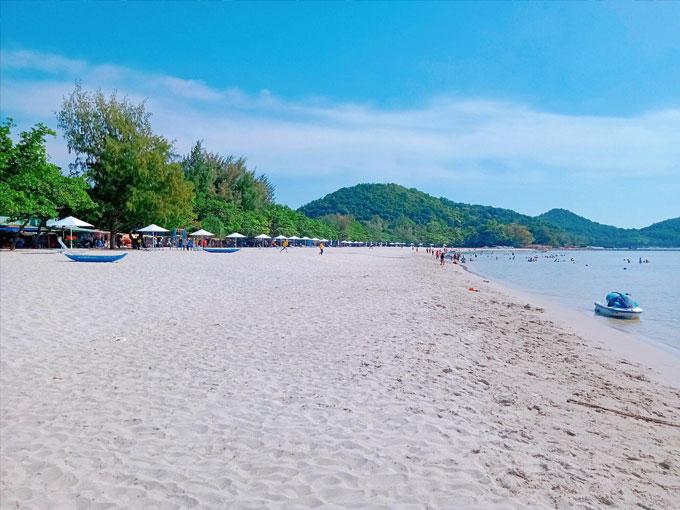 Biển Mũi Nai Hà Tiên - vẻ đẹp mới của Du lịch Kiên Giang