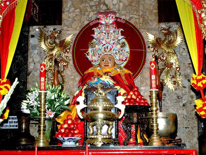 Miếu Bà Chúa Xứ Núi Sam - Điểm du lịch tâm lich nổi tiếng của An Giang