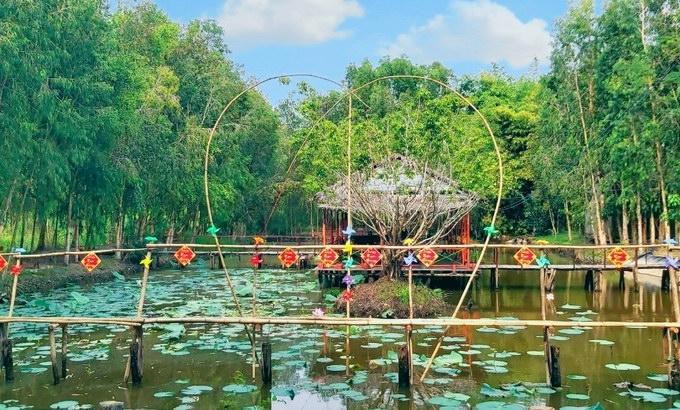 Một góc Khu Du Lịch Sinh Thái Lung Ngọc Hoàng nằm trong khu bảo tồn