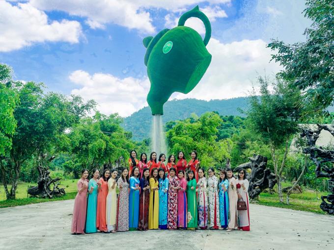 Check-in và sống ảo tại Công viên Yang Bay
