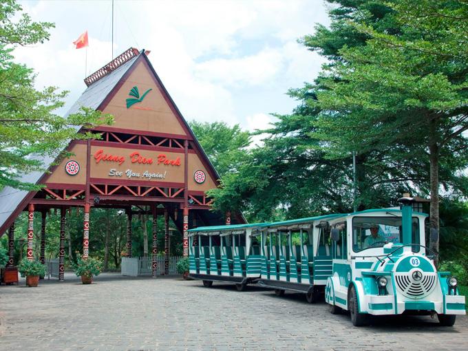 Khu du lịch sinh thái thác Giang Điền - Điểm giải STRESS cuối tuần gần Sài Gòn