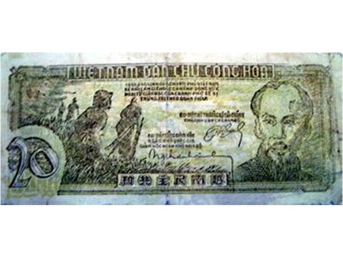 Tờ bạc Việt Nam Dân chủ Cộng hòa in tại Nam bộ năm 1948