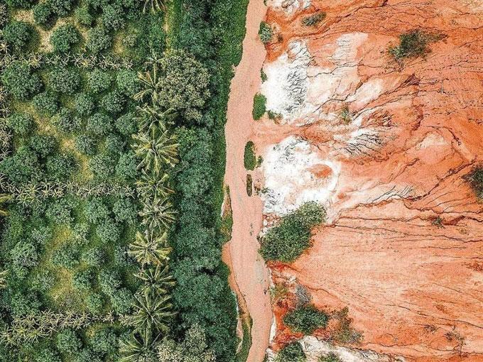 Suối Hồng (Suối Tiên) - Sự kết hợp hài hòa giữa núi, rừng thiên nhiên Bình Thuận