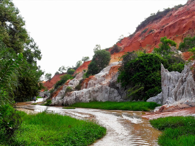 Thiên nhiên Suối Tiên ở Mũi Né còn rất hoang sơ