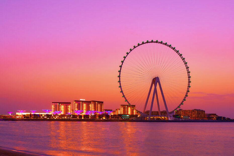 Vòng đu quay lớn nhất thế giới tại Dubai